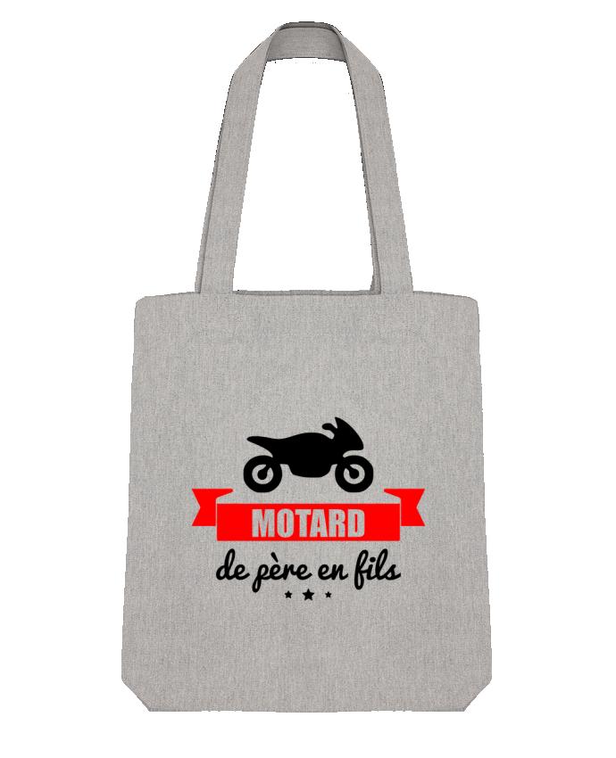 Tote Bag Stanley Stella Motard de père en fils, moto, motard par Benichan