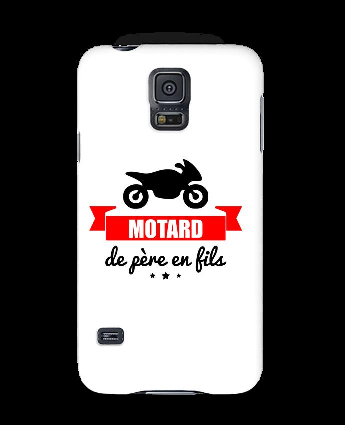 Coque 3D Samsung Galaxy S5 Motard de père en fils, moto, motard par Benichan