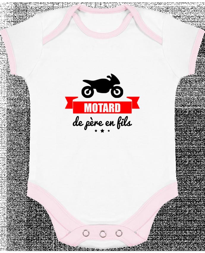 Body Bébé Contrasté Motard de père en fils, moto, motard par Benichan