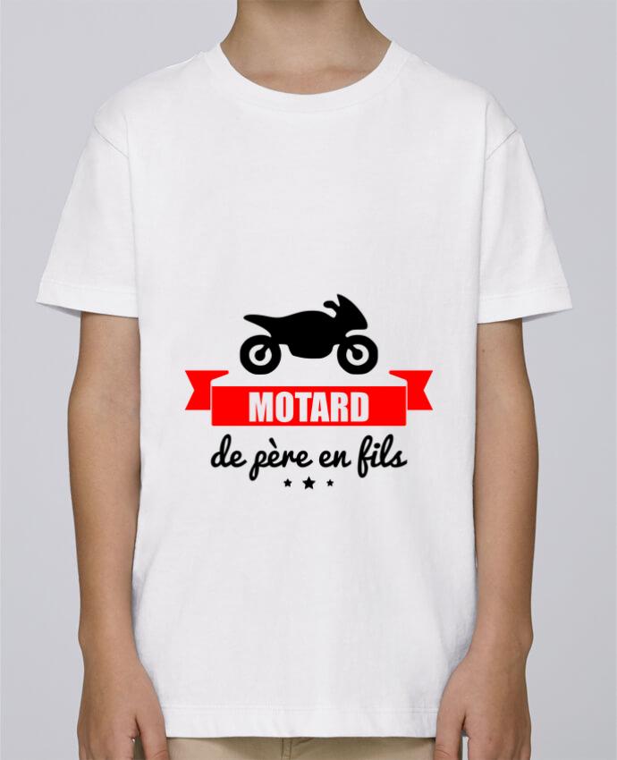 Tee Shirt Garçon Stanley Mini Paint Motard de père en fils, moto, motard par Benichan