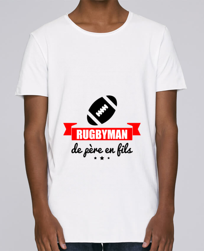T-shirt Homme Oversized Stanley Skates Rugbyman de père en fils, rugby, rugbyman par Benichan