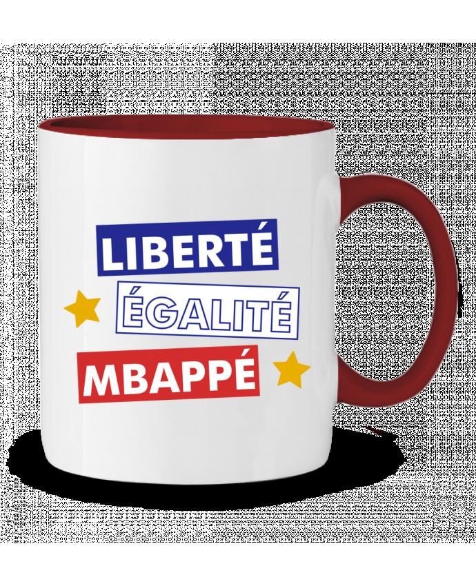 Mug en Céramique Bicolore Equipe de France MBappé tunetoo