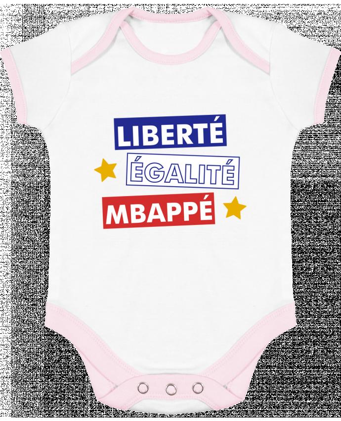 Body Bébé Contrasté Equipe de France MBappé par tunetoo 7ef9f34fe72