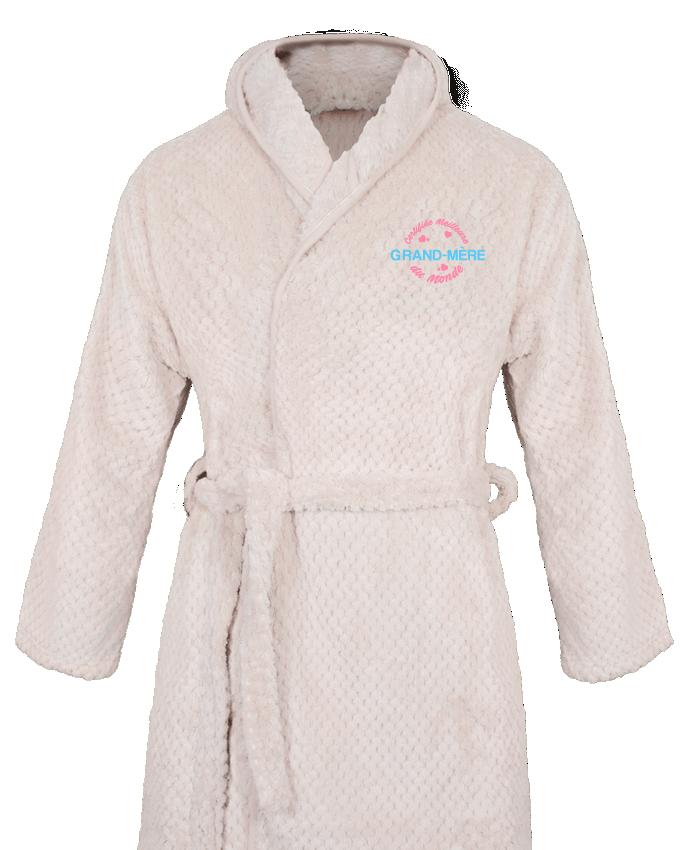 Peignoir Femme Soft Coral Fleece Certifiée meilleure grand-mère du monde par tunetoo