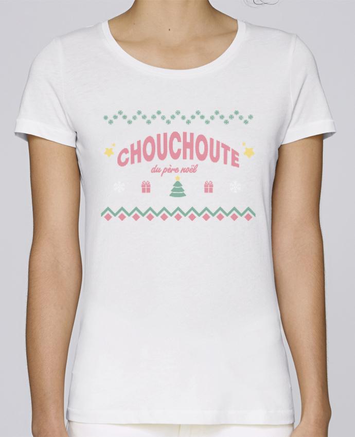 T-shirt Femme Stella Loves Chouchoute du père noël par tunetoo