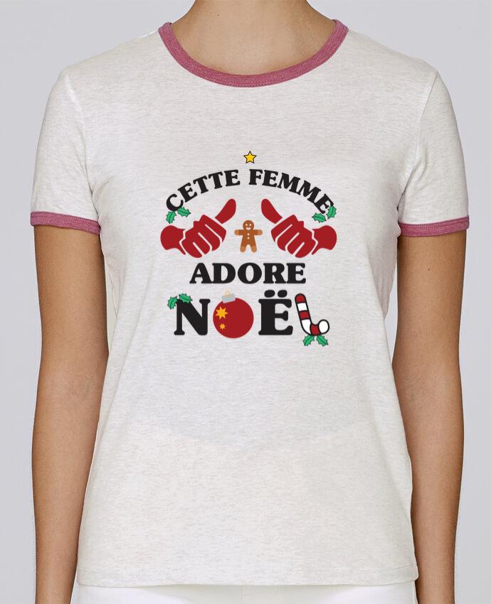 T-shirt Femme Stella Returns Cette femme adore noël pour femme par tunetoo