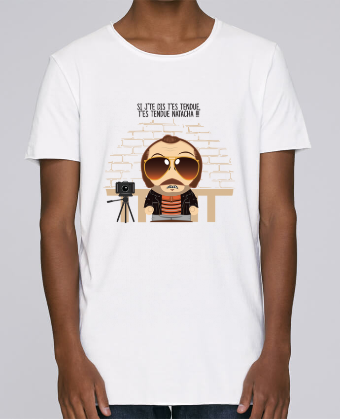 T-shirt Homme Oversized Stanley Skates T'es tendue Natacha par PTIT MYTHO