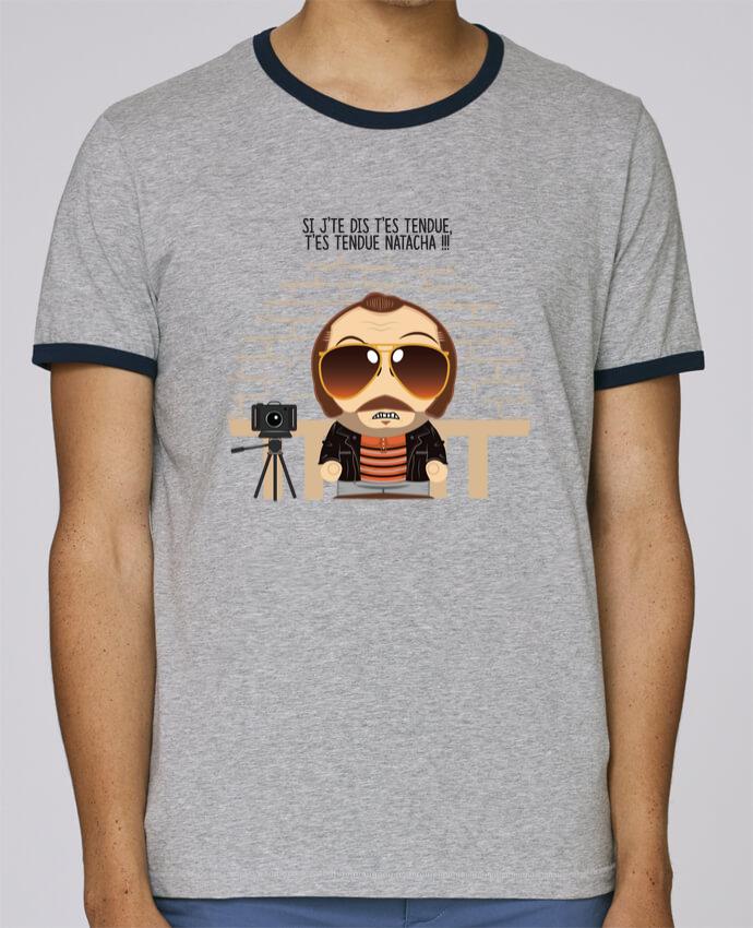 T-Shirt Ringer Contrasté Homme Stanley Holds T'es tendue Natacha pour femme par PTIT MYTHO