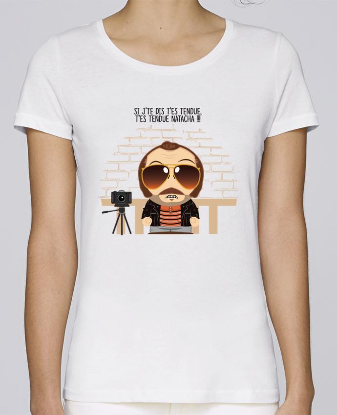 T-shirt Femme Stella Loves T'es tendue Natacha par PTIT MYTHO