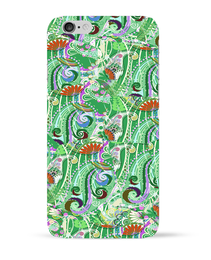 Coque 3D Iphone 6 Paisley Mix 5 par L'Homme Sandwich