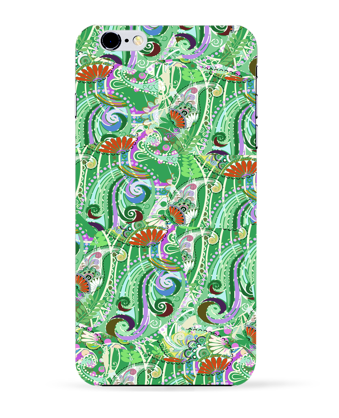 Coque 3D Iphone 6+ Paisley Mix 5 de L