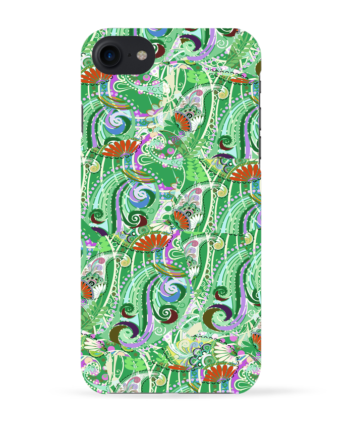 Coque 3D Iphone 7 Paisley Mix 5 de L