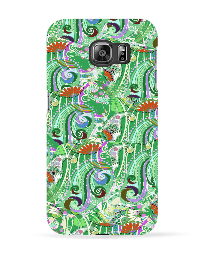 Coque 3D Samsung Galaxy S6 Paisley Mix 5 - L