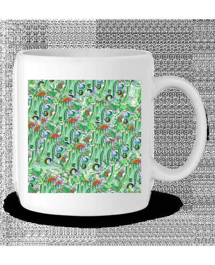 Mug en Céramique Paisley Mix 5 par L'Homme Sandwich