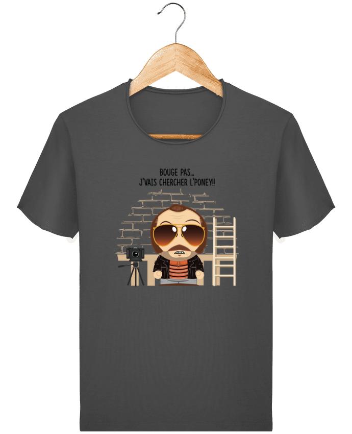 T-shirt Homme Stanley Imagines Vintage Claudy Focan et le Poney par PTIT MYTHO