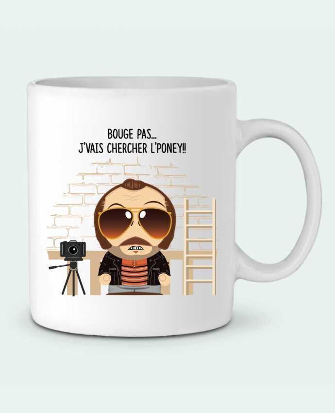 Mug en Céramique Claudy Focan et le Poney par PTIT MYTHO