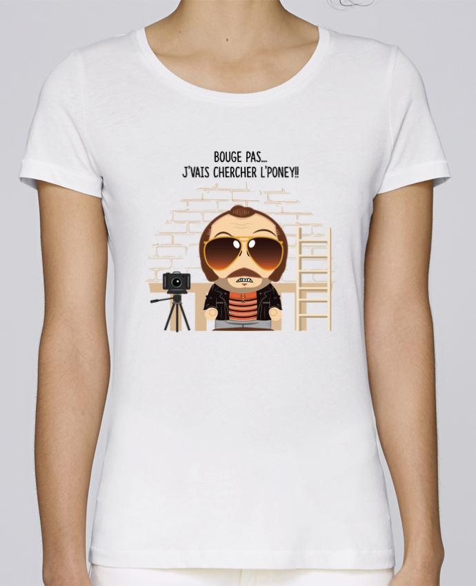 T-shirt Femme Stella Loves Claudy Focan et le Poney par PTIT MYTHO