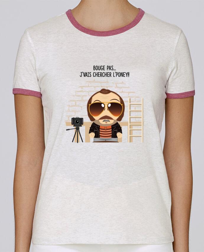 T-shirt Femme Stella Returns Claudy Focan et le Poney pour femme par PTIT MYTHO