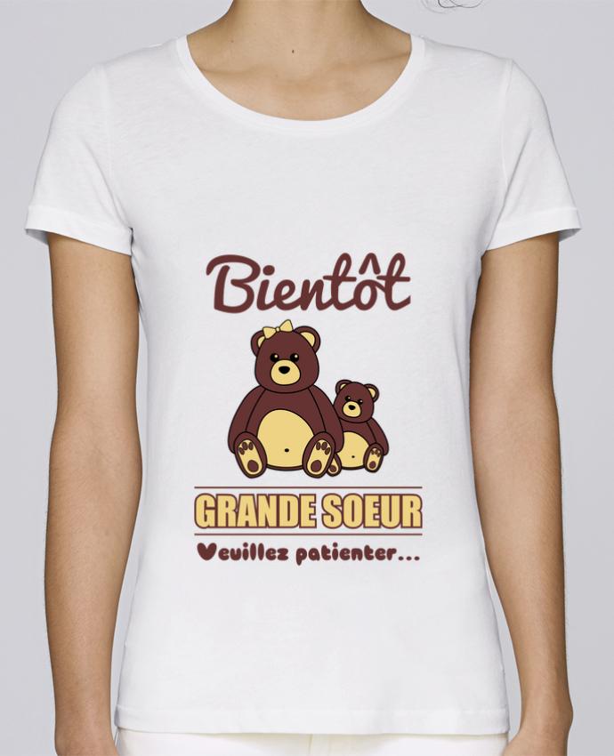 T Shirt Femme Stella Loves Bientôt Grande Soeur Future Soeur