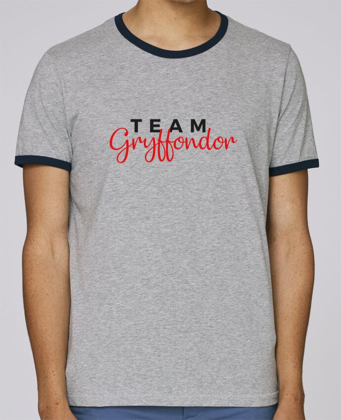 T-Shirt Ringer Contrasté Homme Stanley Holds Team Gryffondor pour femme par Nana