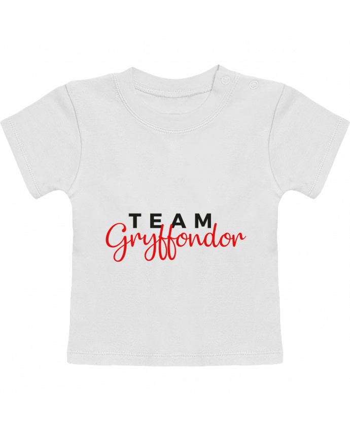 T-Shirt Bébé Manches Courtes Team Gryffondor manches courtes du designer Nana