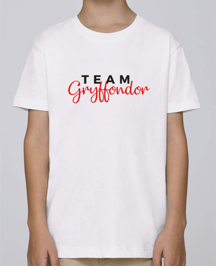 Tee Shirt Garçon Stanley Mini Paint Team Gryffondor par Nana