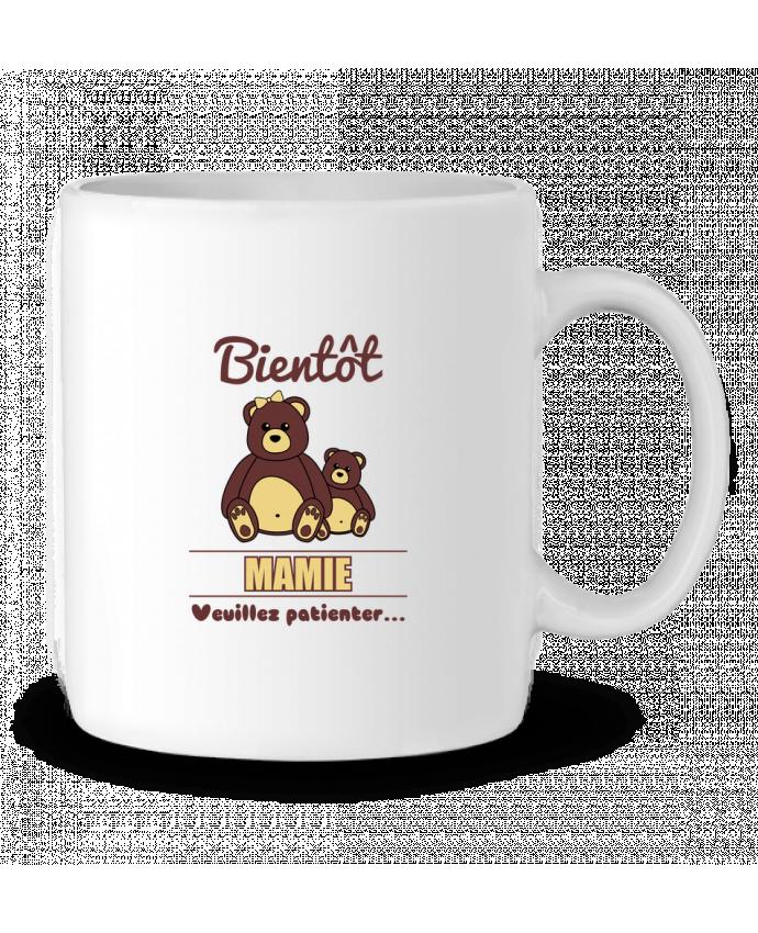 Mug en Céramique Bientôt Mamie, future grand-mère, ourson, famille, grossesse par Benichan