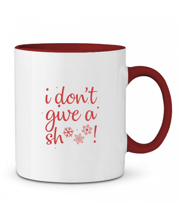 Mug en Céramique Bicolore I don't give a sh*** ! Nana