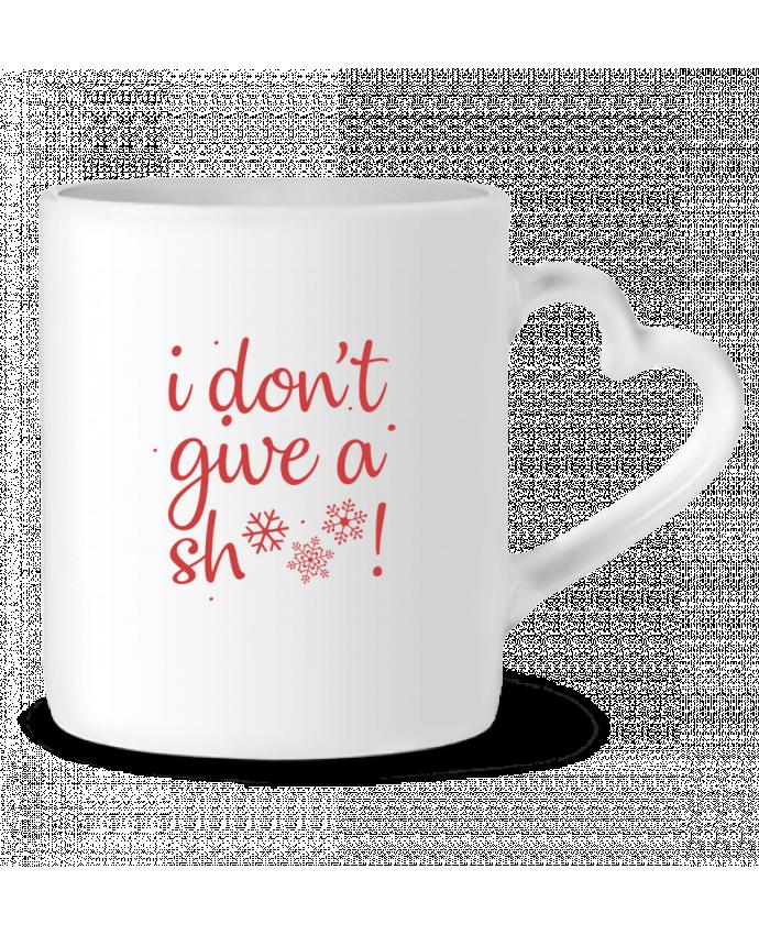 Mug Coeur I don't give a sh*** ! par Nana