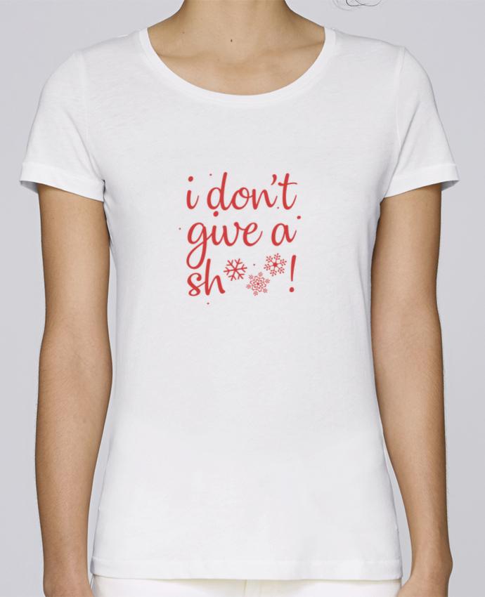 T-shirt Femme Stella Loves I don't give a sh*** ! par Nana