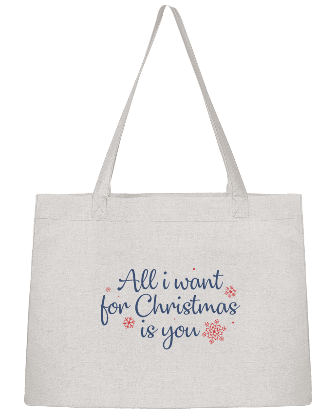Sac Cabas Shopping Stanley Stella All i want for christmas is you par Nana
