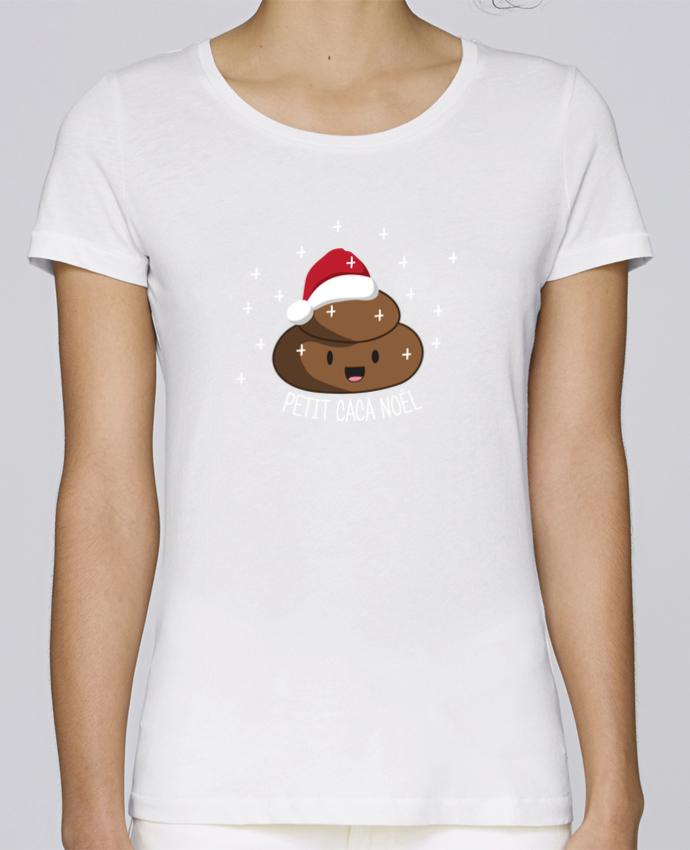 T-shirt Femme Stella Loves Petit caca noël par tunetoo