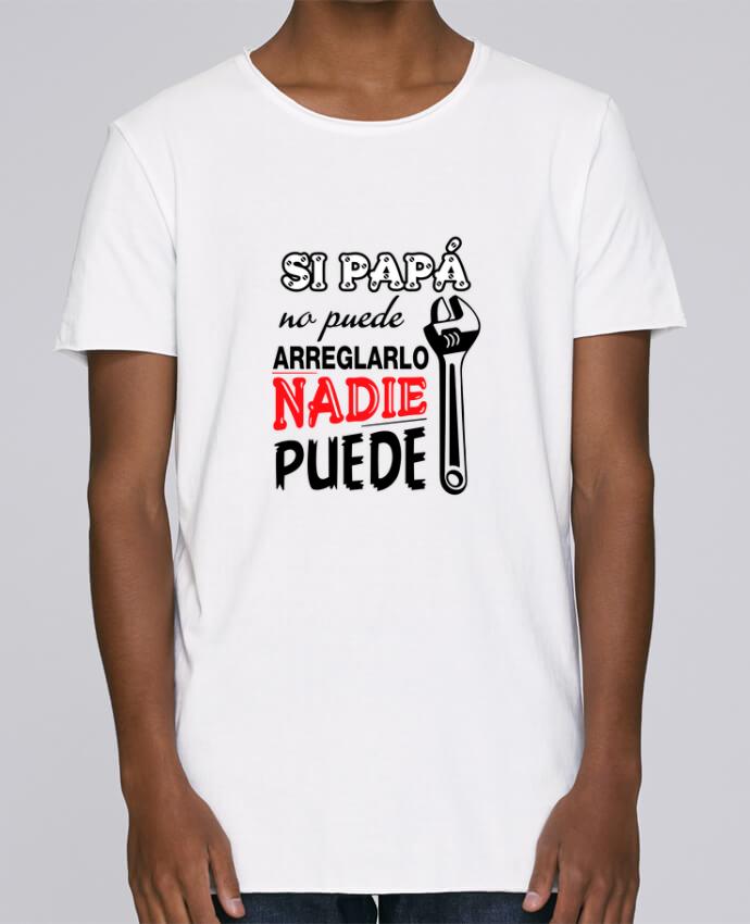 T-shirt Homme Oversized Stanley Skates Si papá no puede arreglarlo par tunetoo