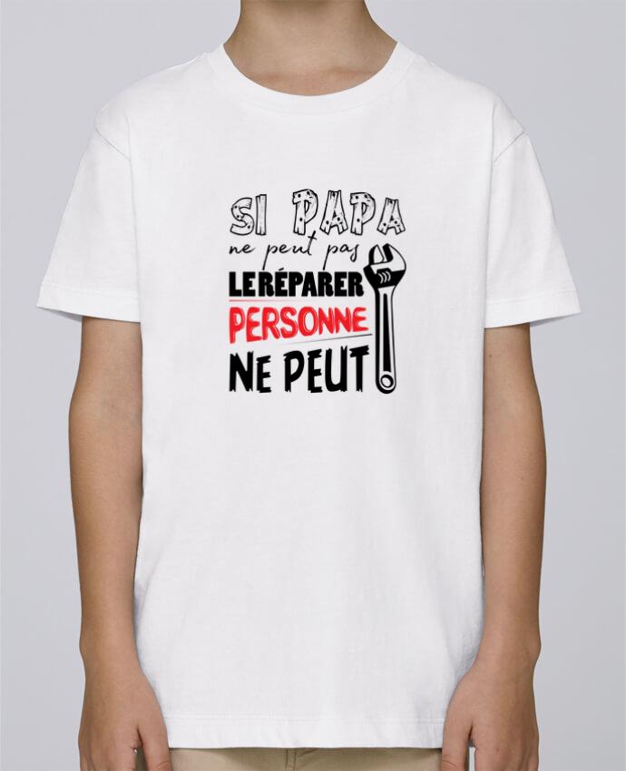 Tee Shirt Garçon Stanley Mini Paint Si papa ne peut pas le réparer... par tunetoo