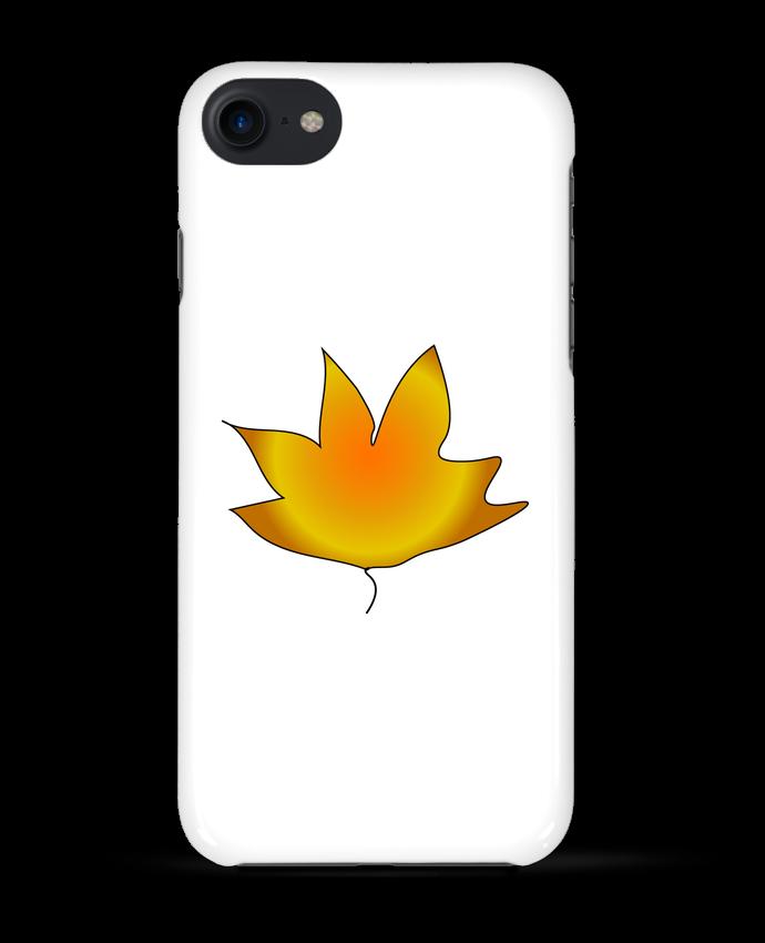 coque transparente feuille iphone 7