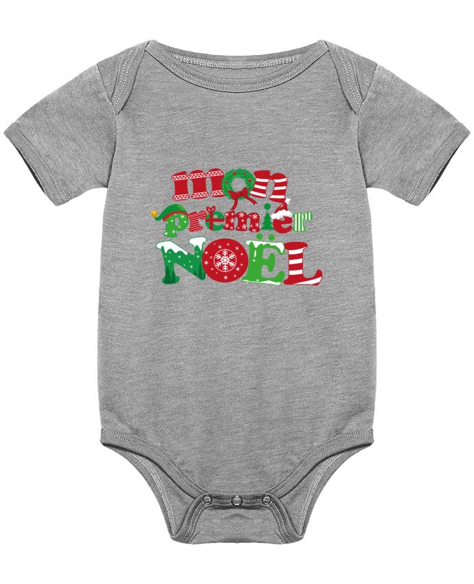 Body Bébé Mon  premier Noël par GraphiCK-Kids