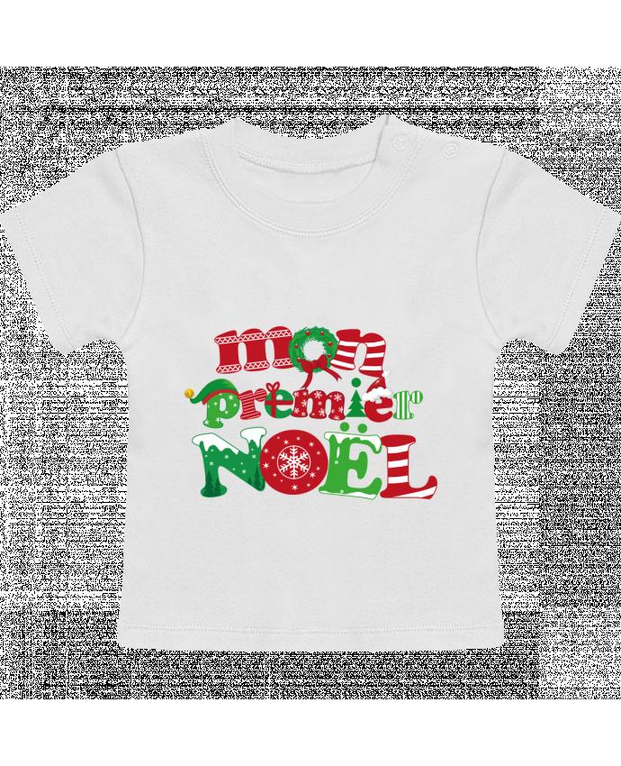 T-Shirt Bébé Manches Courtes Mon  premier Noël manches courtes du designer GraphiCK-Kids