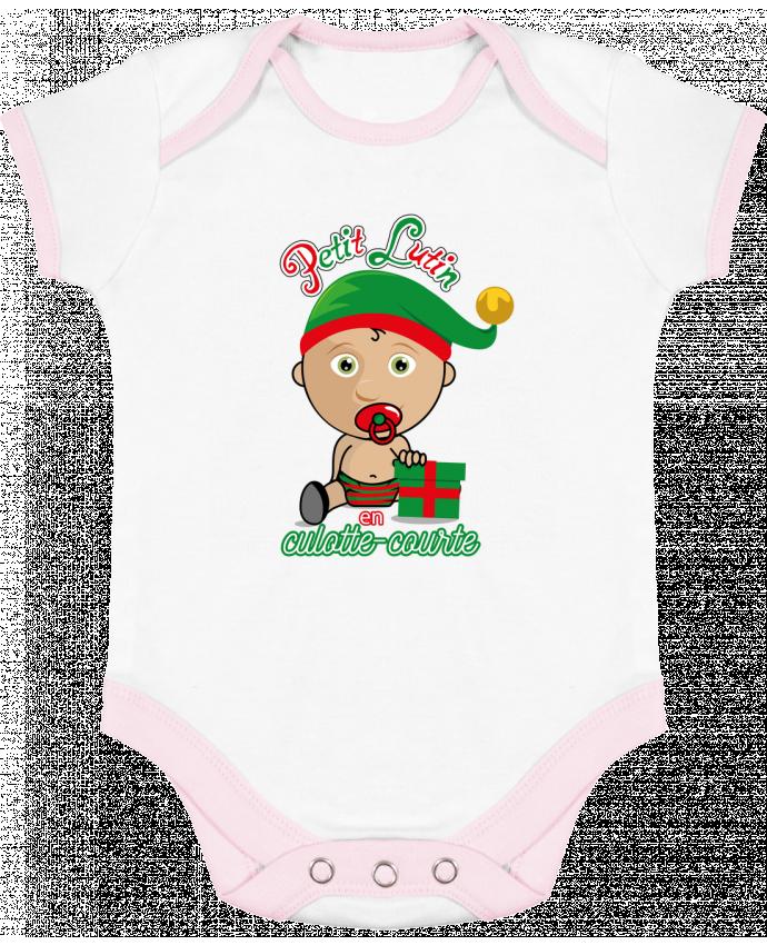 Body Bébé Contrasté Petit Lutin de Noël par GraphiCK-Kids