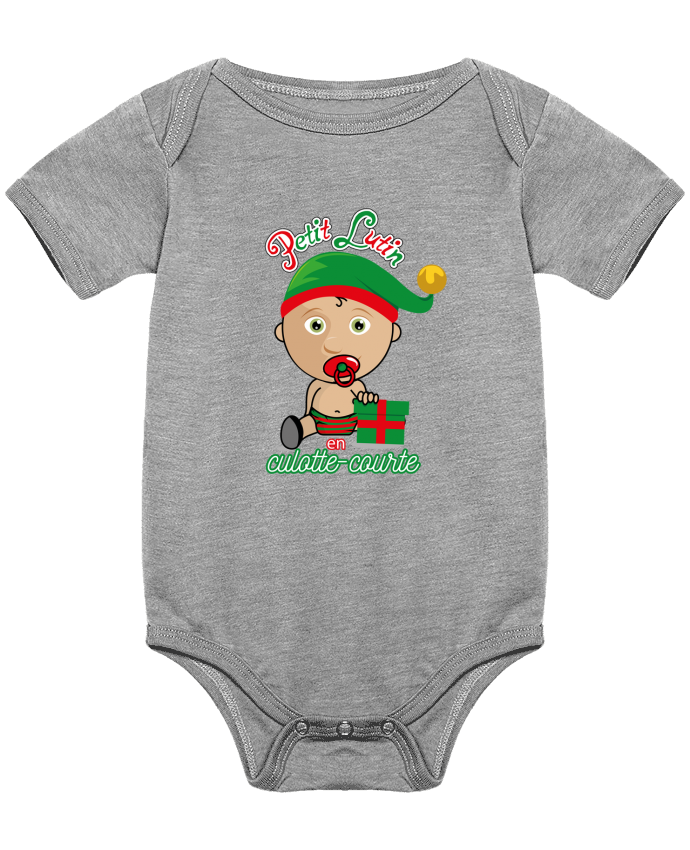 Body Bébé Petit Lutin de Noël par GraphiCK-Kids