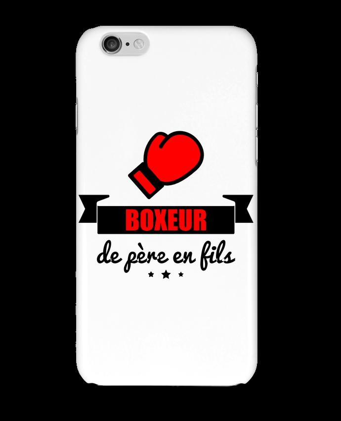 4452048 coque 3d iphone 6 blanc boxeur de pere en fils cadeau boxe by benichan