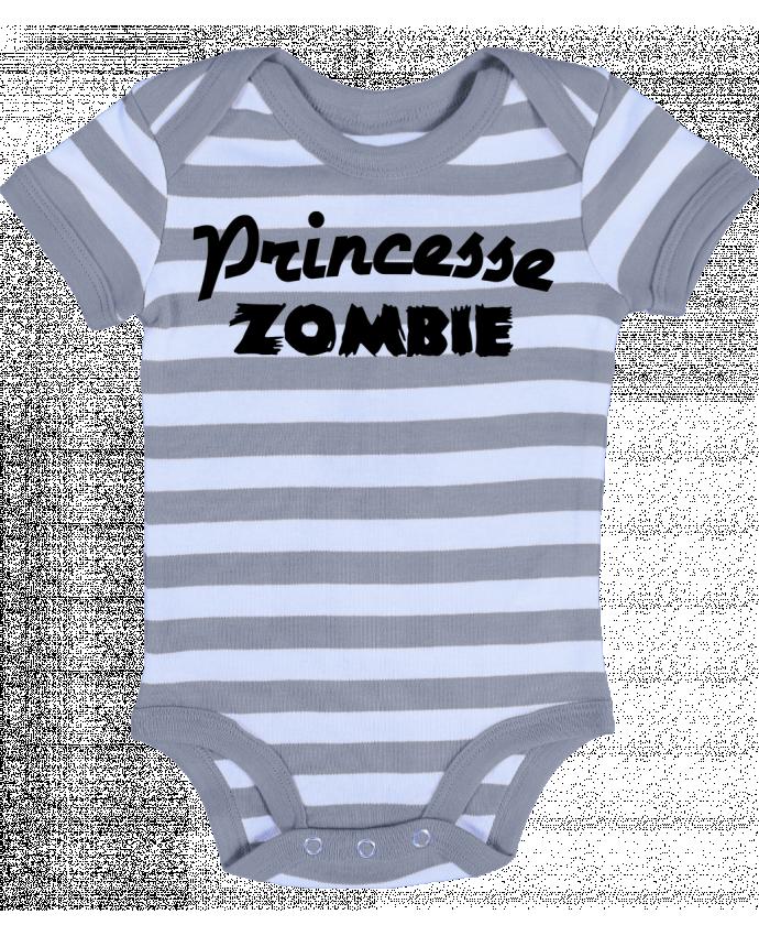 Body Bébé à Rayures Princesse Zombie - L'Homme Sandwich