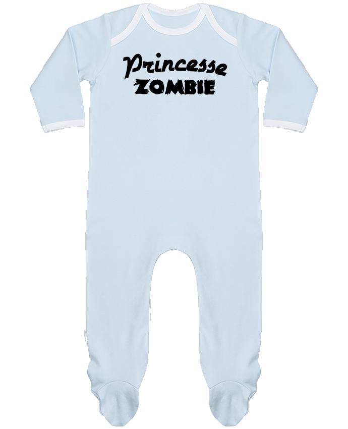 Pyjama Bébé Manches Longues Contrasté Princesse Zombie par L'Homme Sandwich