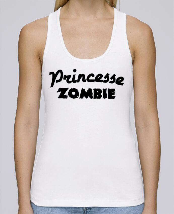 Débardeur bio femme Stella Dreams Princesse Zombie par L'Homme Sandwich en coton Bio