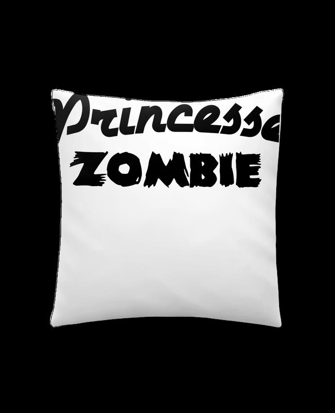 Coussin Synthétique Doux 41 x 41 cm Princesse Zombie par L'Homme Sandwich