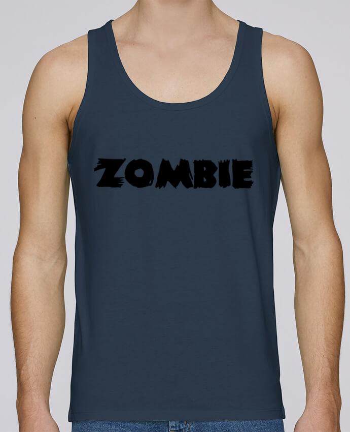 Débardeur Bio Homme Stanley Runs Zombie par L'Homme Sandwich 100% coton bio