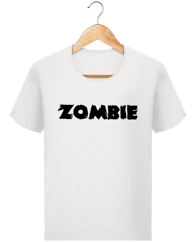 T-shirt Homme Stanley Imagines Vintage Zombie par L'Homme Sandwich