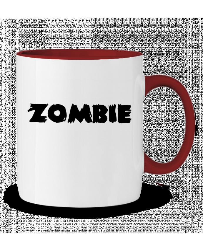 Mug en Céramique Bicolore Zombie L'Homme Sandwich