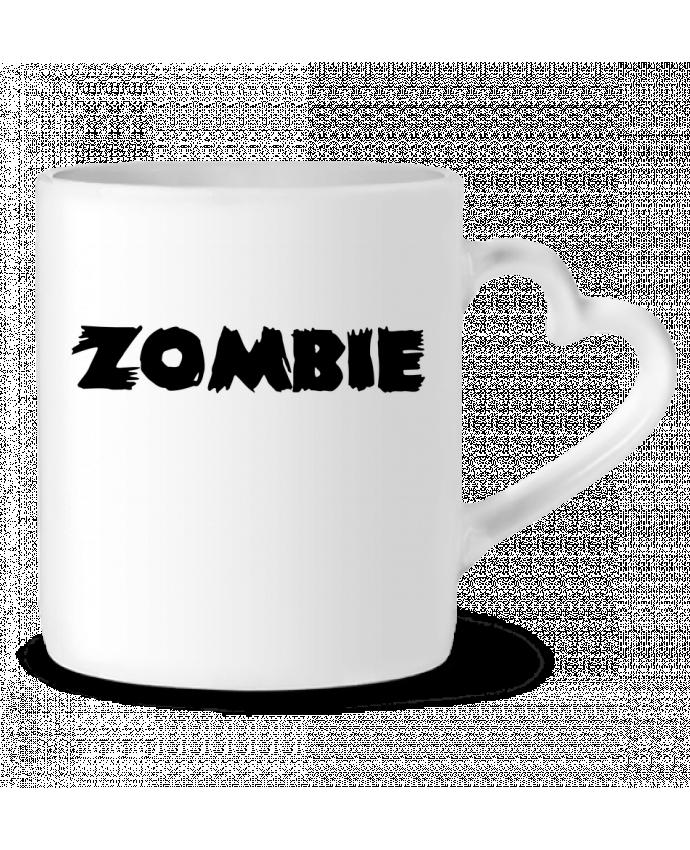 Mug Coeur Zombie par L'Homme Sandwich
