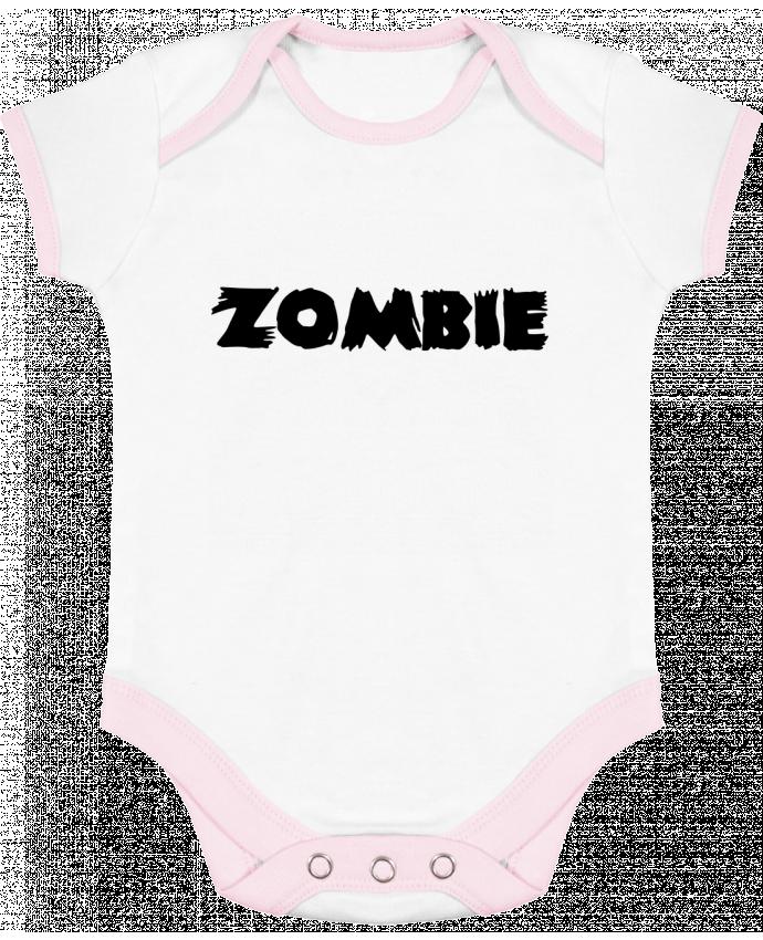 Body Bébé Contrasté Zombie par L'Homme Sandwich