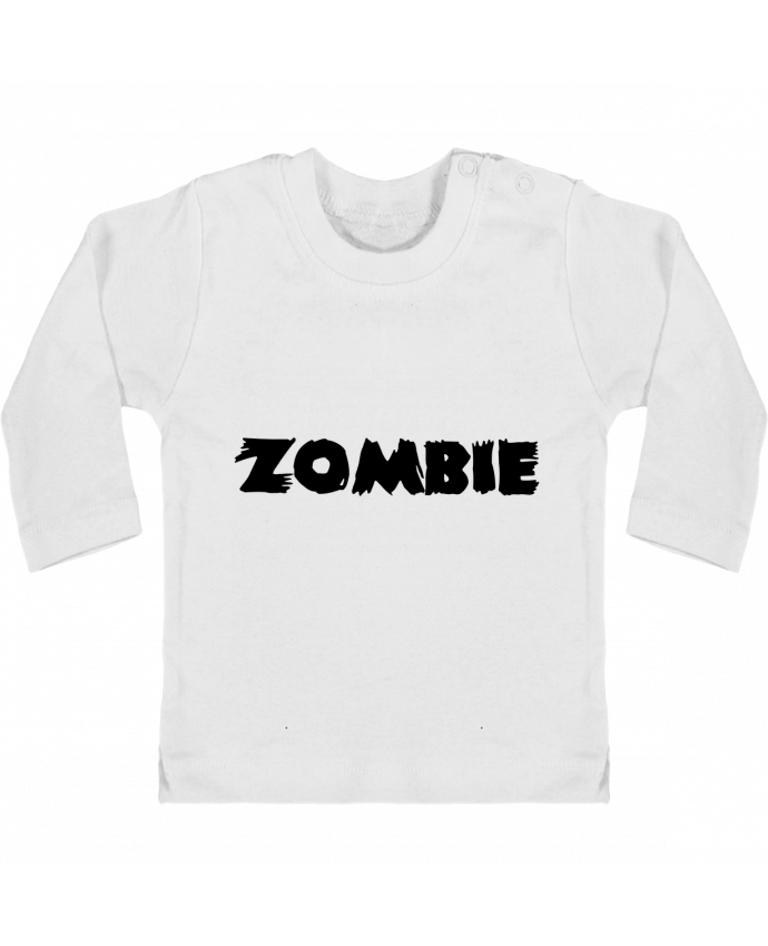 T-shirt Bébé Manches Longues Boutons Pression Zombie manches longues du designer L'Homme Sandwich
